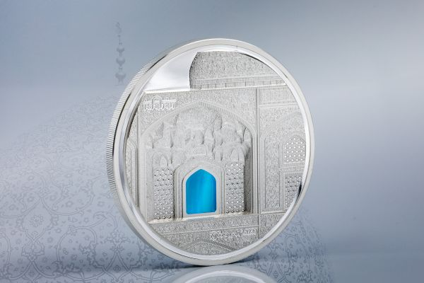 Palau 2020 20$ - Tiffany Art Isfahan - 3 Oz Proof Silver Coin