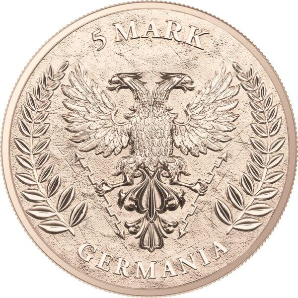 Germania 2020 5 Mark Germania - The Flags - 1 Oz Silver Coin