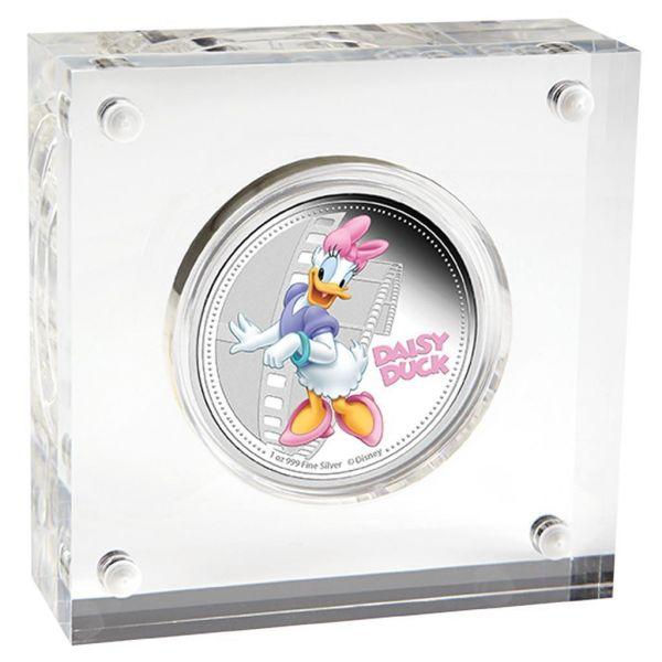 Niue 2014 $2 Disney Mickey & Friends - Daisy Duck - 1 Oz Silver Coin