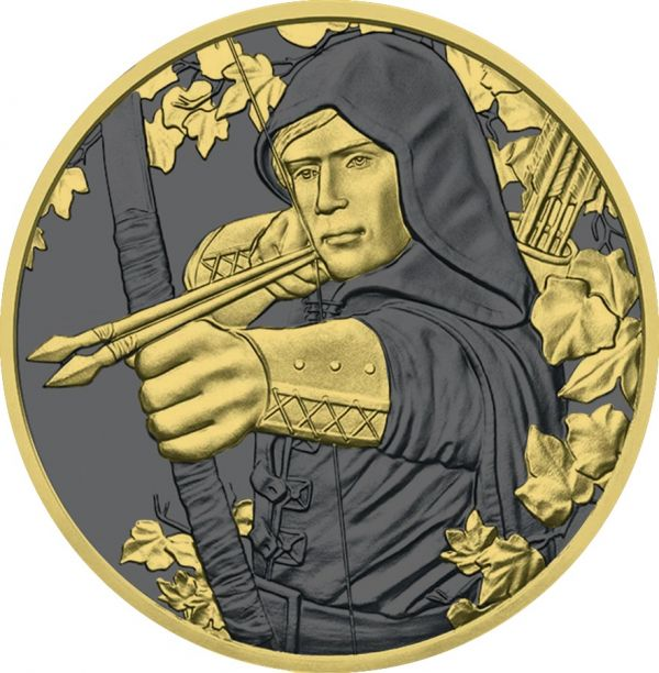 Austria 2019 1.5 € - Robin Hood - 1 Oz Silver Coin