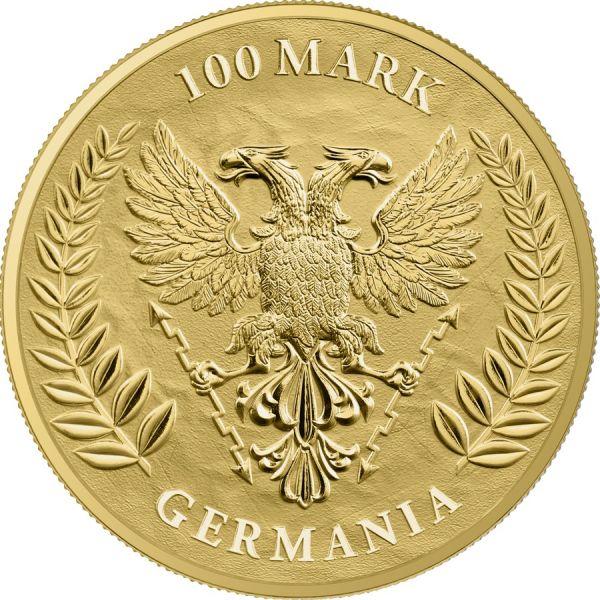 Germania 2020 100 Mark - Germania - 1 Oz 999.9 Gold BU Coin