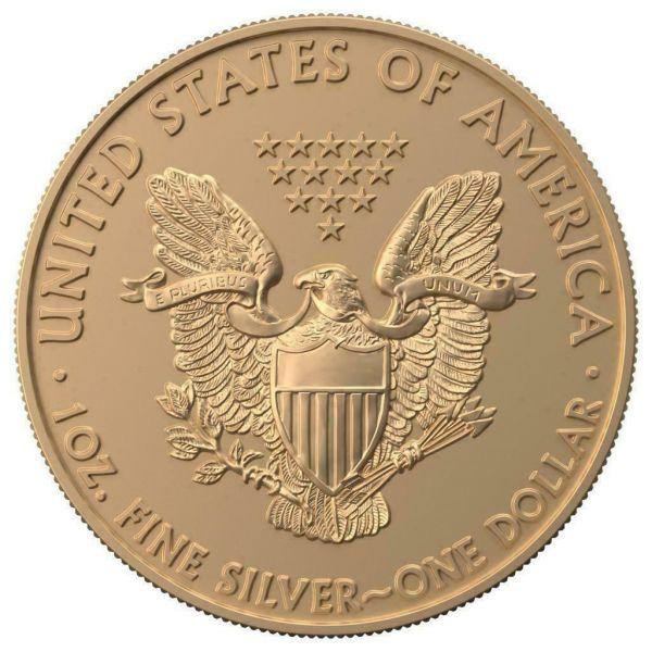 USA 2019 $1 Silver Eagle - Jewish Holidays - ROSH HASHANAH 1 Oz Silver Coin