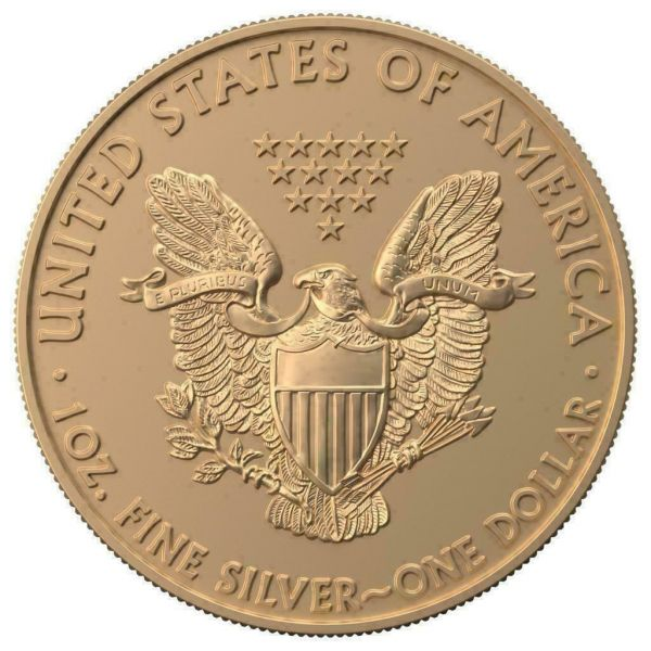 USA 2019 $1 Silver Eagle - Jewish Holidays - YOM KIPPUR 1 Oz Silver Coin