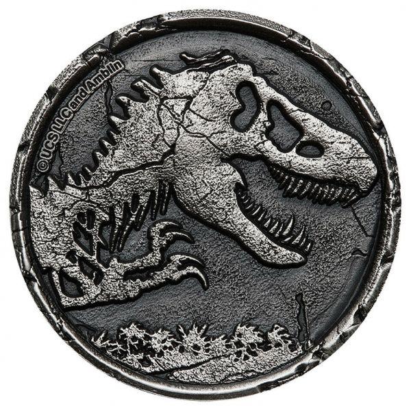 Niue 2021 5$ - Jurassic World - 2 Oz Silver Coin